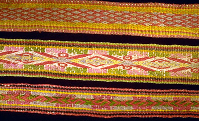 Three Chinchero Belts