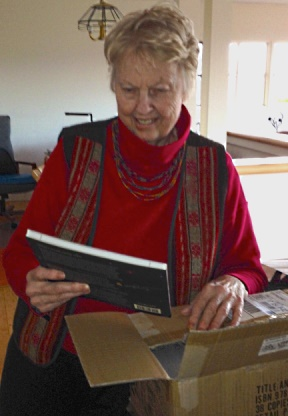 My Book About Inca Life, Unpacking The Box of Author