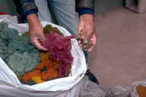 Variety of Colors from Natural Dyes