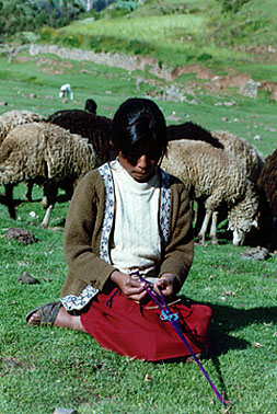 Weaving While Shepherding